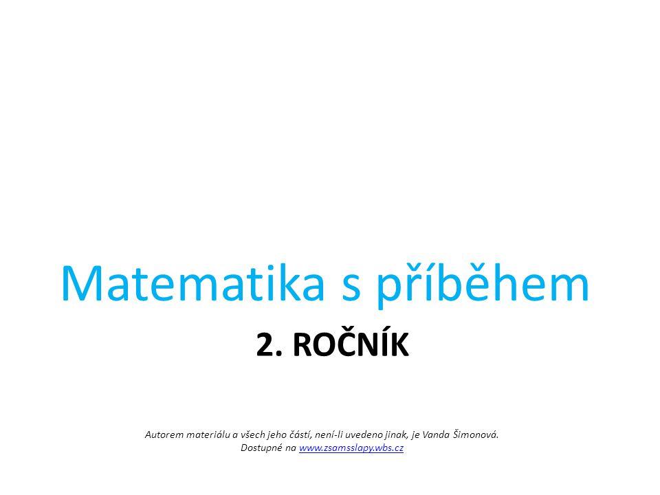 Matematika s příběhem 2. ročník