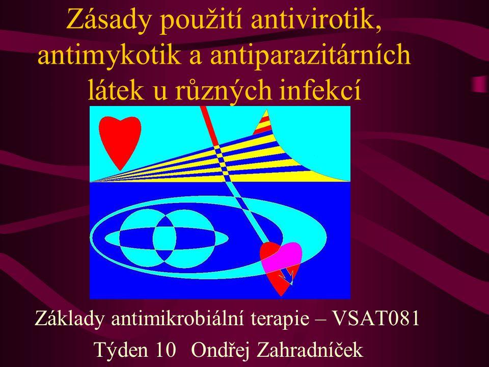 Základy antimikrobiální terapie – VSAT081 Týden 10 Ondřej Zahradníček