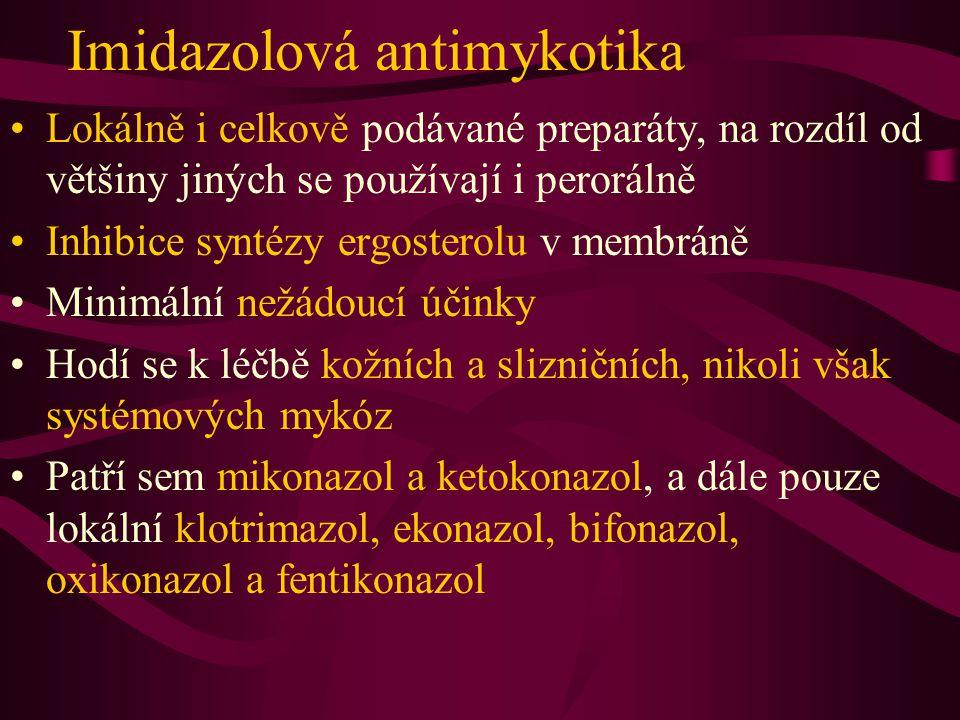 Imidazolová antimykotika