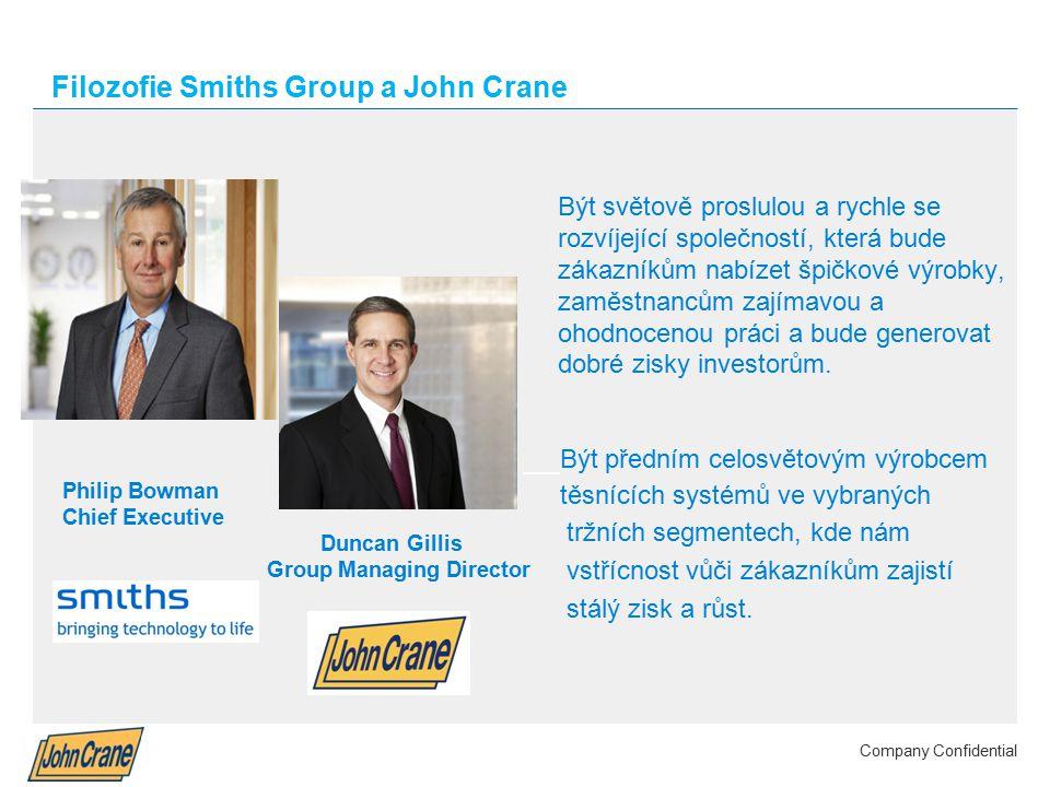 Filozofie Smiths Group a John Crane