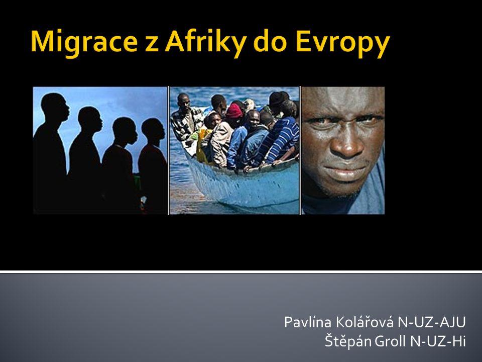 Migrace z Afriky do Evropy