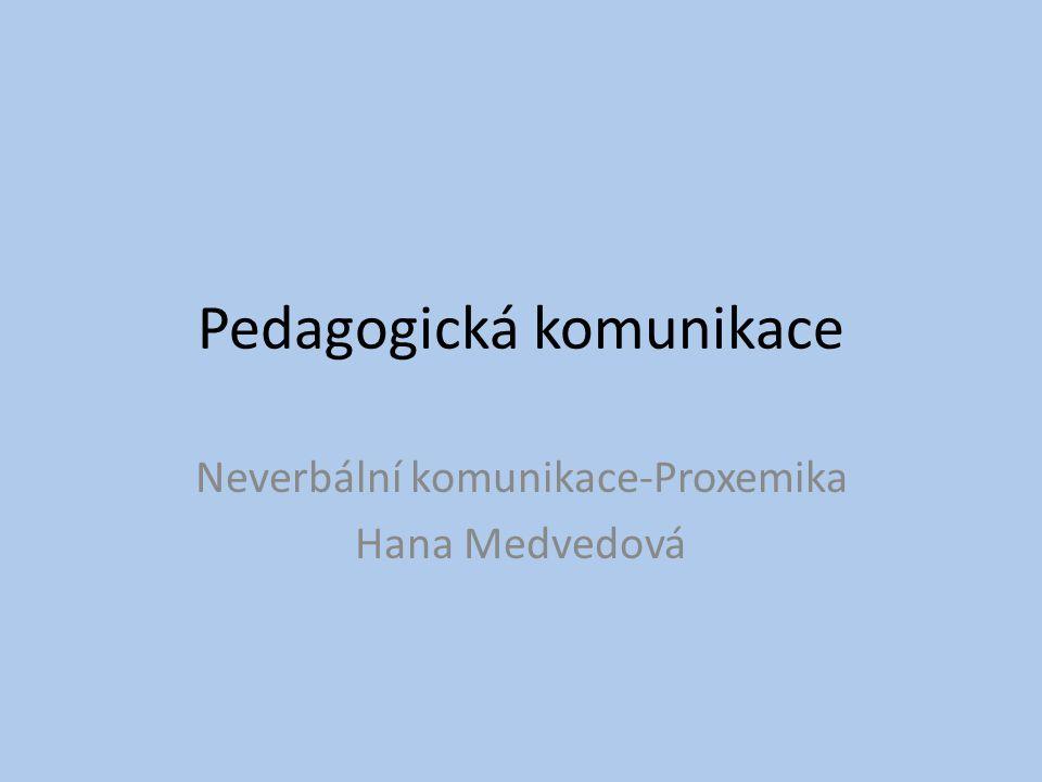 Pedagogická komunikace