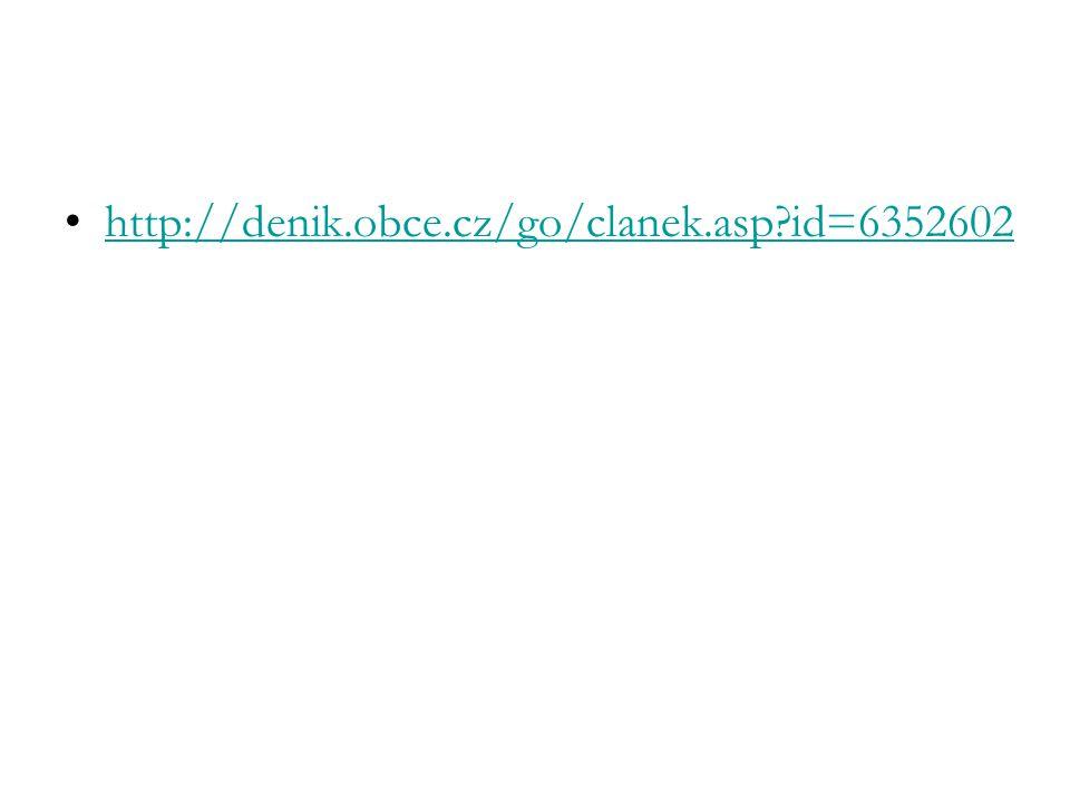 http://denik.obce.cz/go/clanek.asp id=6352602