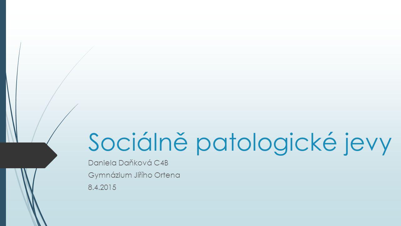 Sociálně patologické jevy