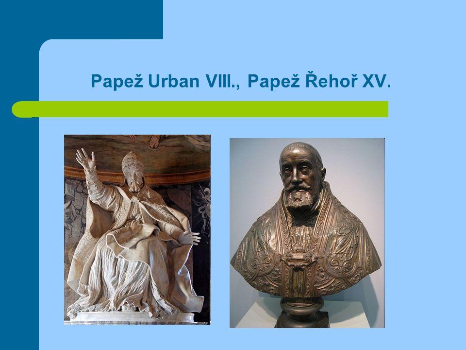 Papež Urban VIII., Papež Řehoř XV.