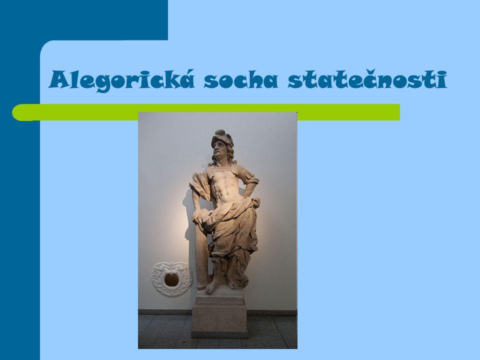 Alegorická socha statečnosti