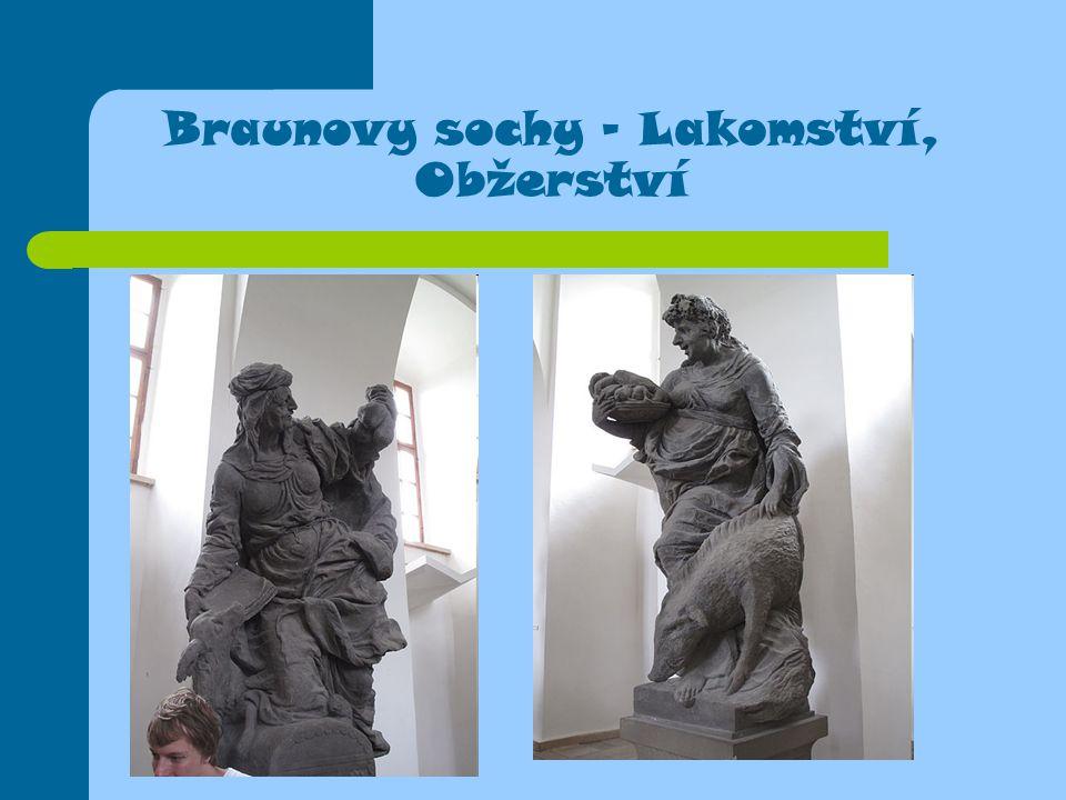 Braunovy sochy - Lakomství, Obžerství