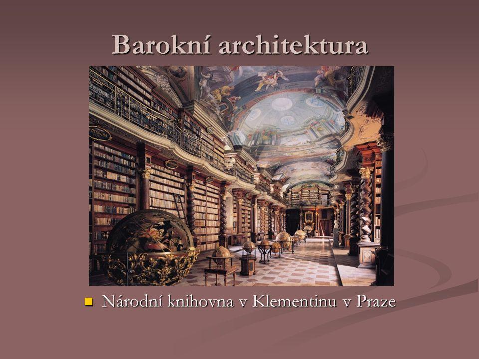 Národní knihovna v Klementinu v Praze