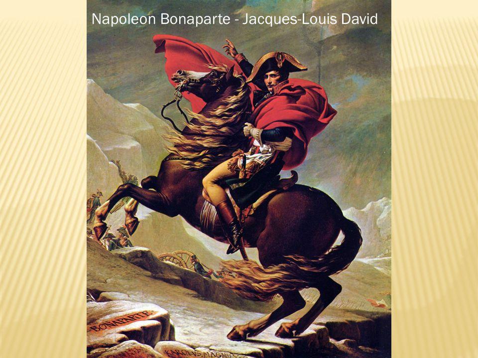 Napoleon Bonaparte - Jacques-Louis David