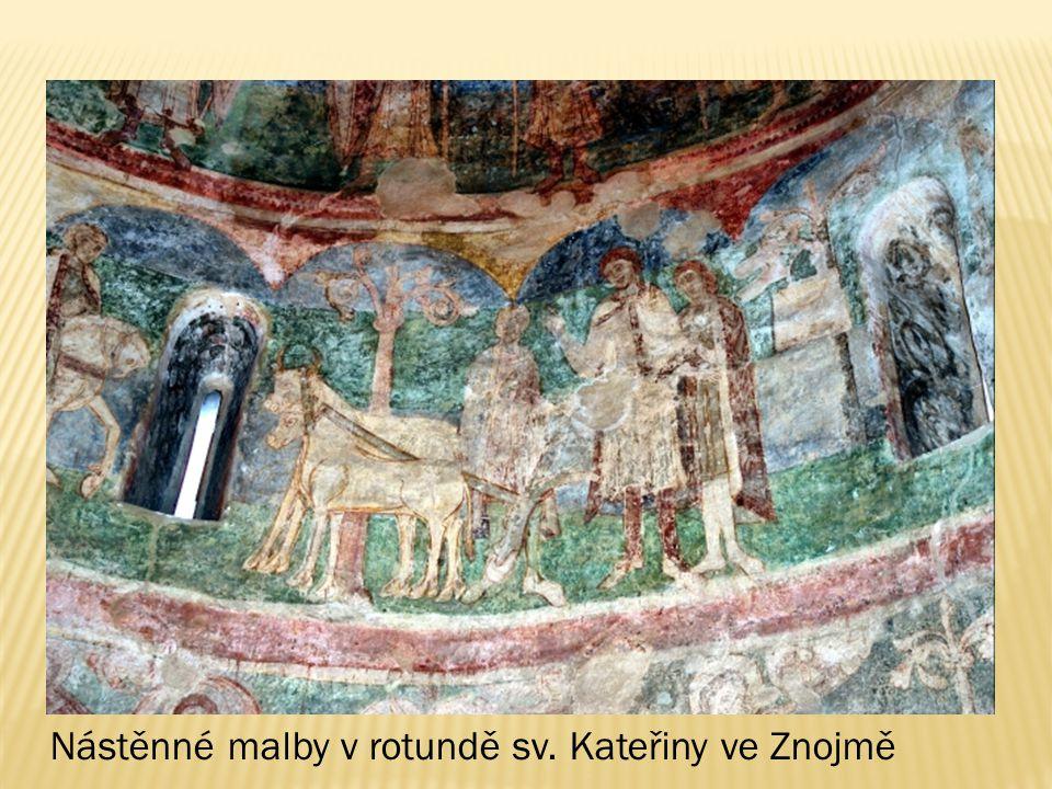 Nástěnné malby v rotundě sv. Kateřiny ve Znojmě