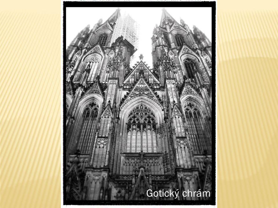 Gotický chrám