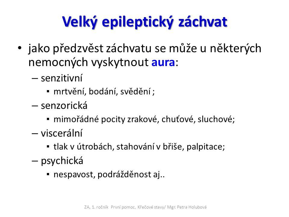 Velký epileptický záchvat