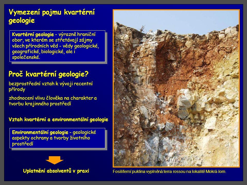Vymezení pojmu kvartérní geologie