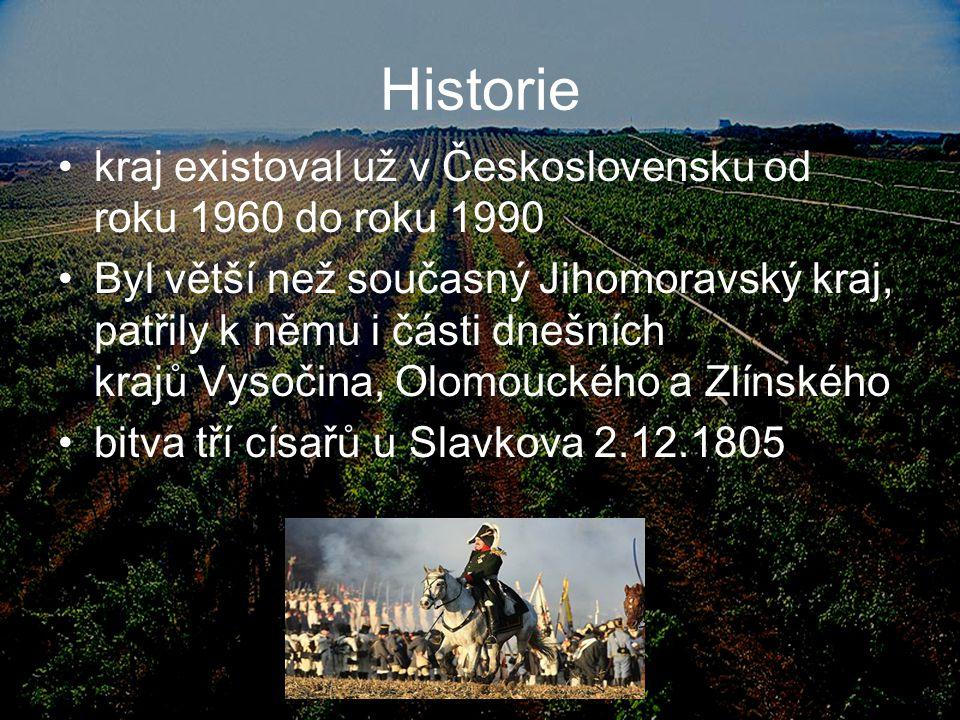 Historie kraj existoval už v Československu od roku 1960 do roku 1990