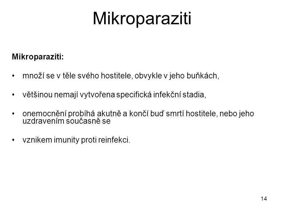 Mikroparaziti Mikroparaziti: