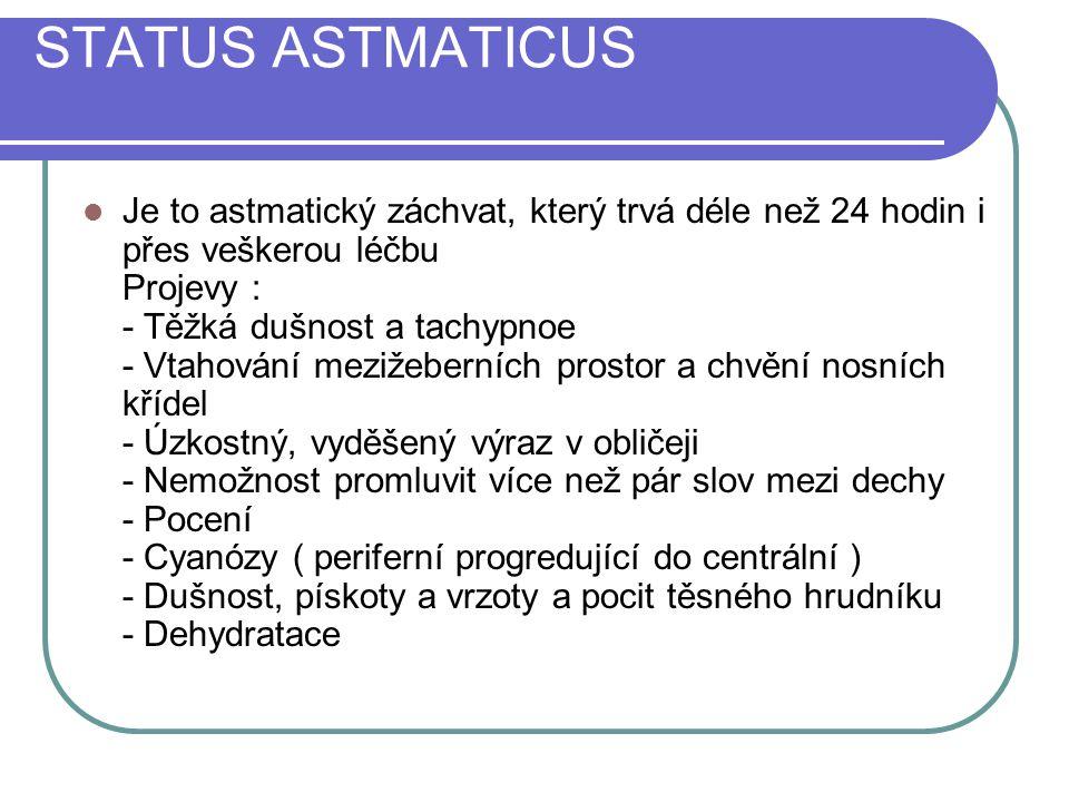 STATUS ASTMATICUS