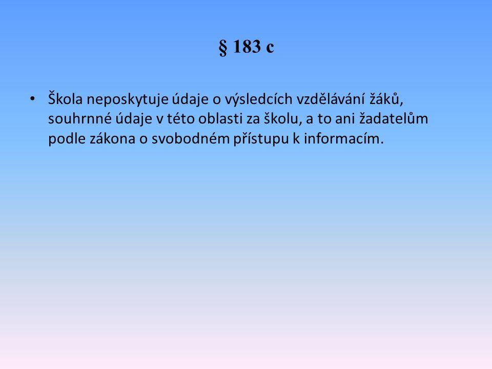 § 183 c