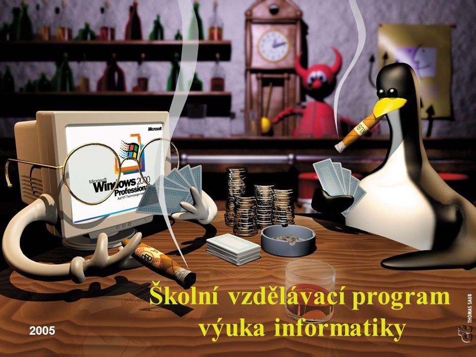 Školní vzdělávací program výuka informatiky