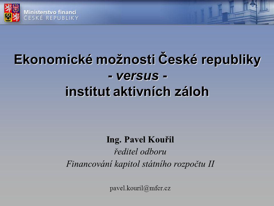 Financování kapitol státního rozpočtu II