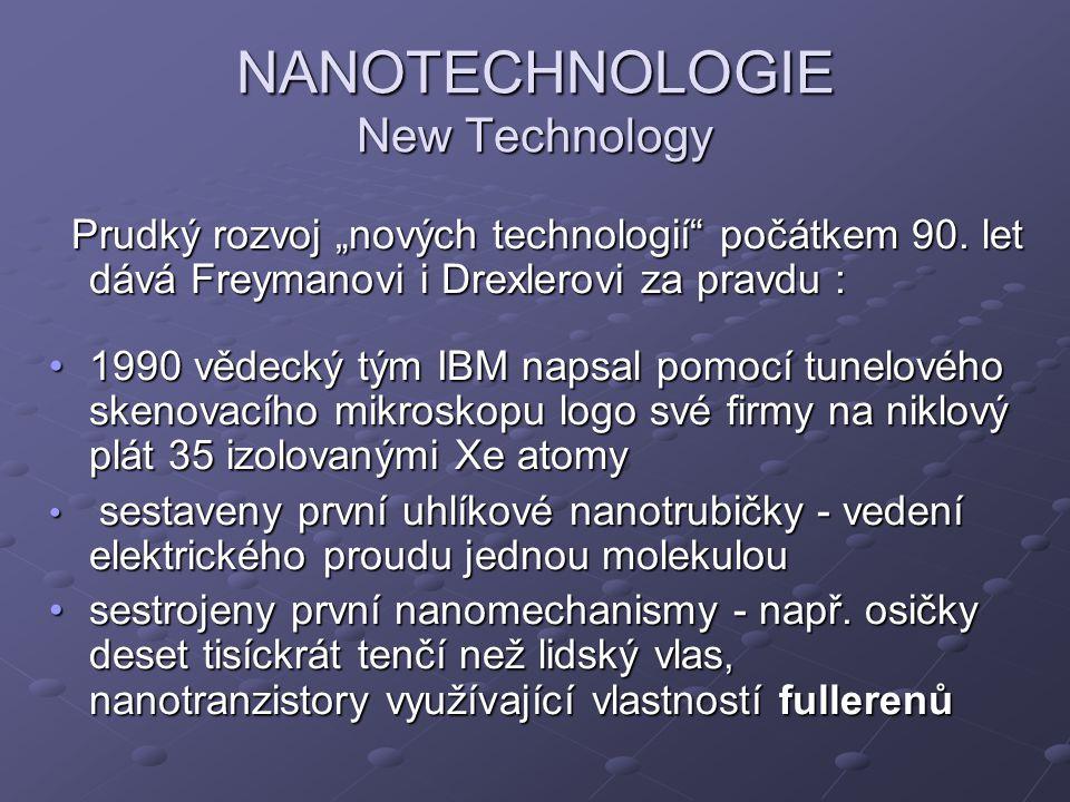 NANOTECHNOLOGIE New Technology