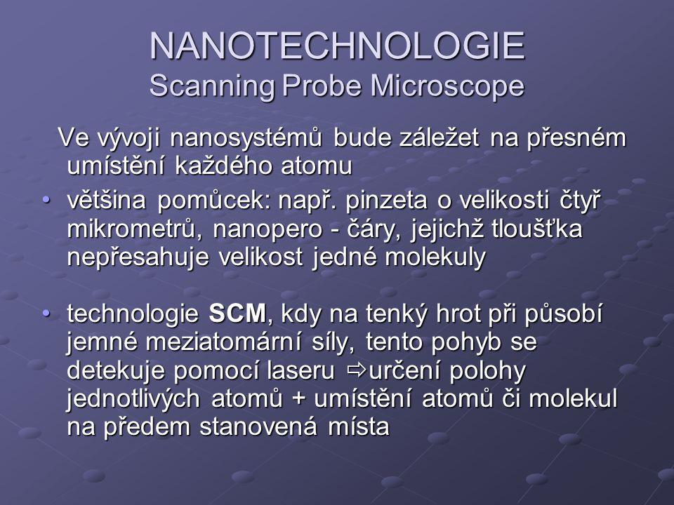 NANOTECHNOLOGIE Scanning Probe Microscope