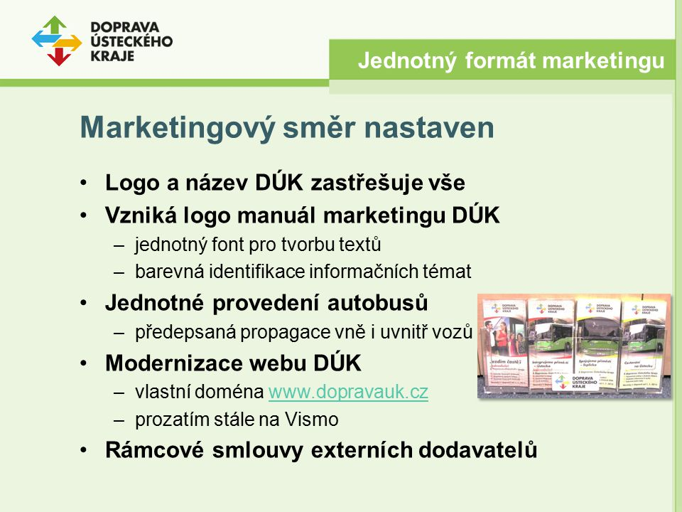 Marketingový směr nastaven