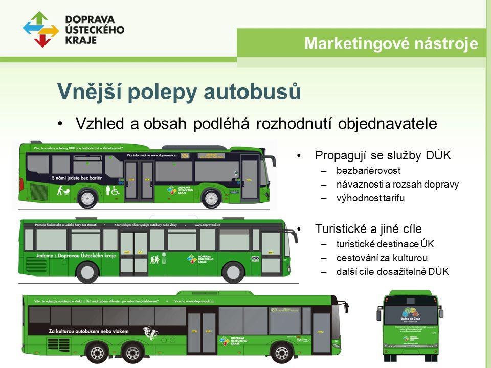 Vnější polepy autobusů