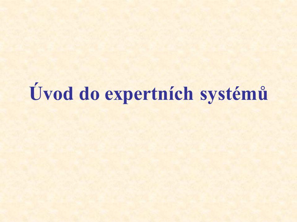 Úvod do expertních systémů
