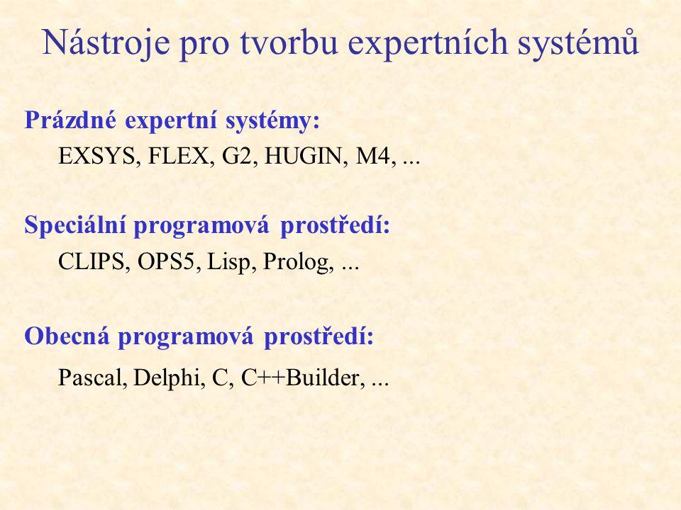 Nástroje pro tvorbu expertních systémů