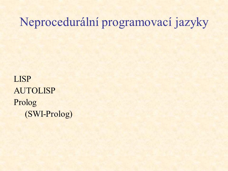 Neprocedurální programovací jazyky