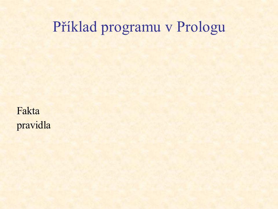 Příklad programu v Prologu