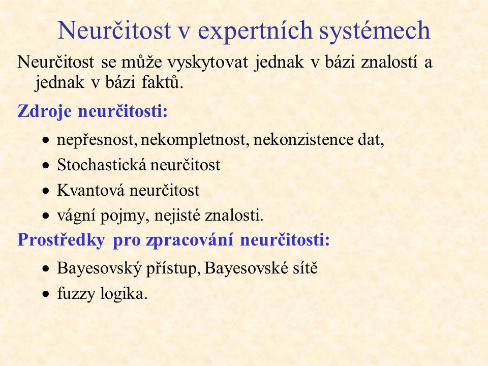Neurčitost v expertních systémech