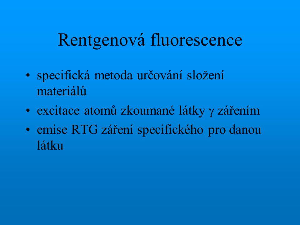 Rentgenová fluorescence