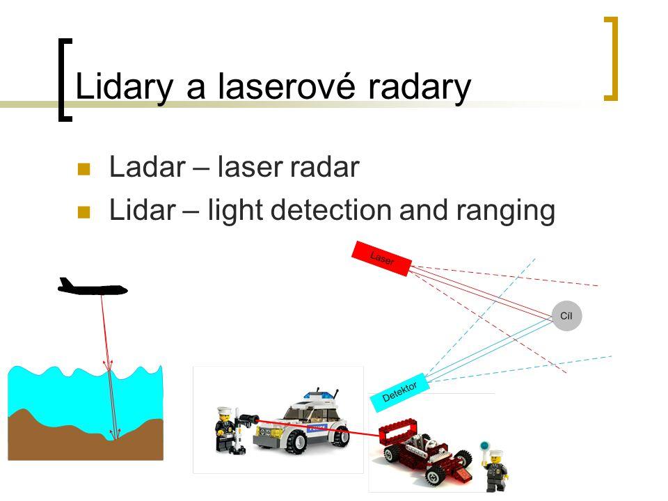 Lidary a laserové radary