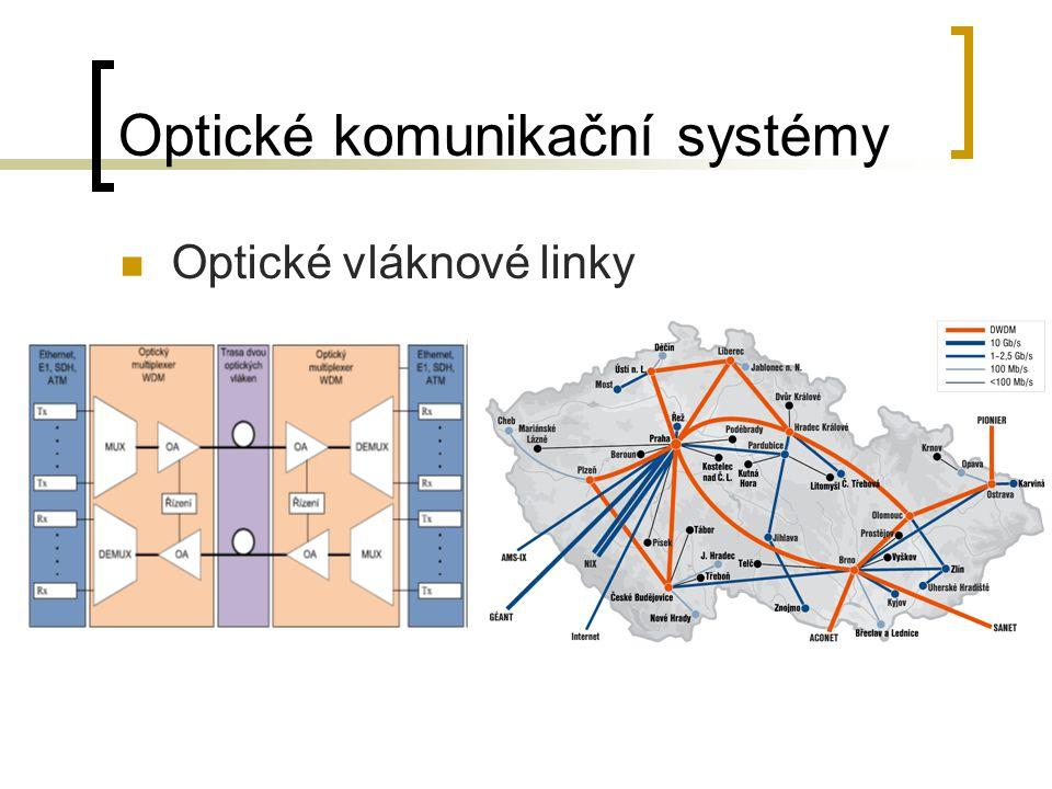 Optické komunikační systémy