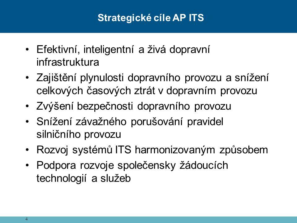 Strategické cíle AP ITS