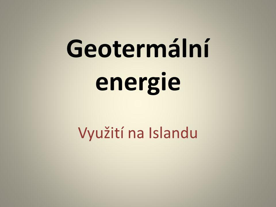 Geotermální energie Využití na Islandu