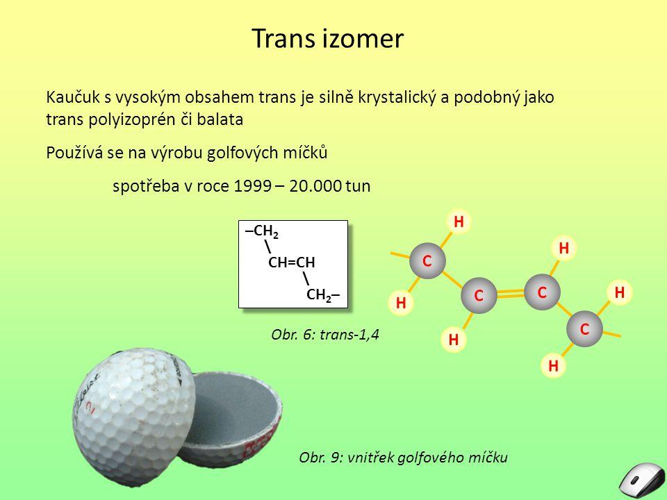 Obr. 9: vnitřek golfového míčku