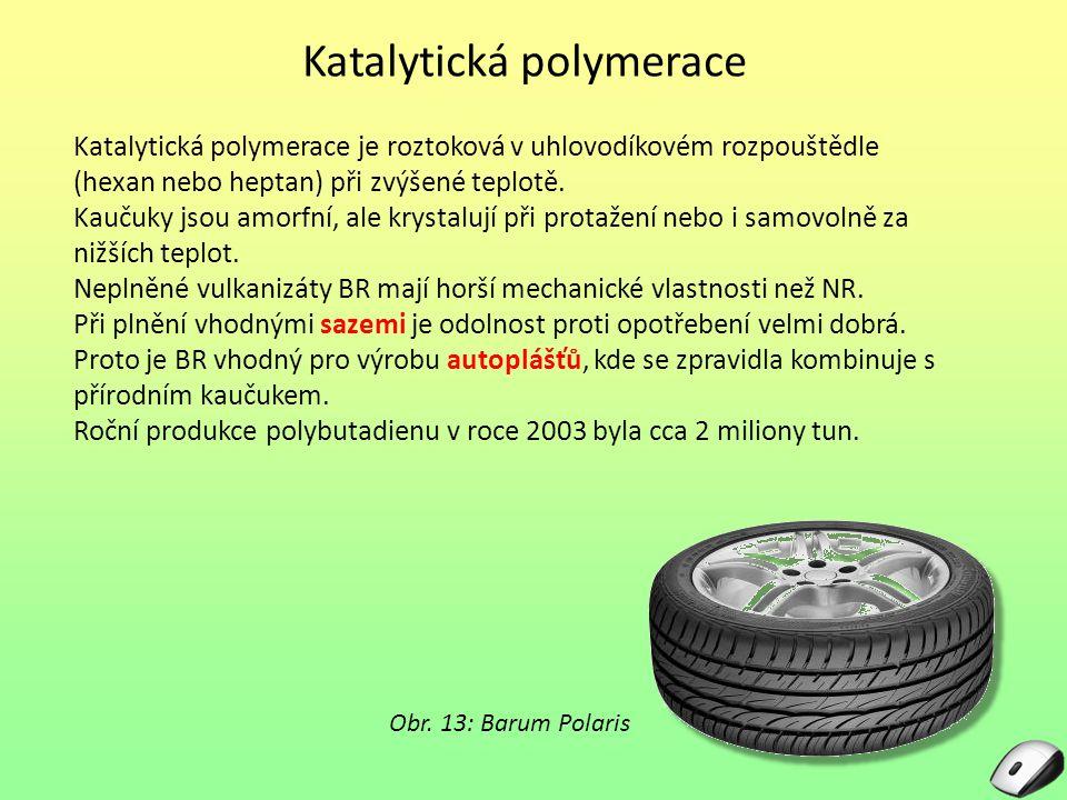 Katalytická polymerace