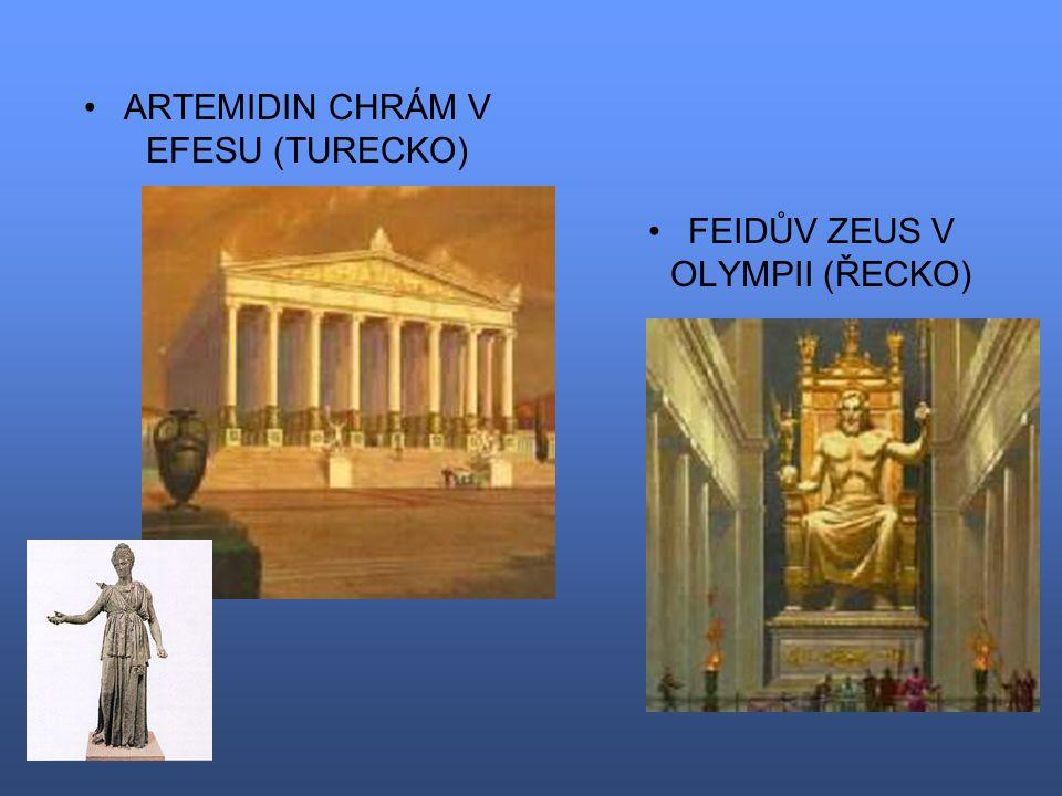 ARTEMIDIN CHRÁM V EFESU (TURECKO)