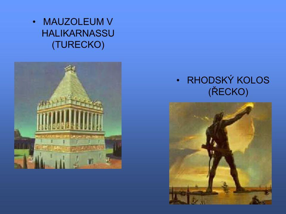MAUZOLEUM V HALIKARNASSU (TURECKO)