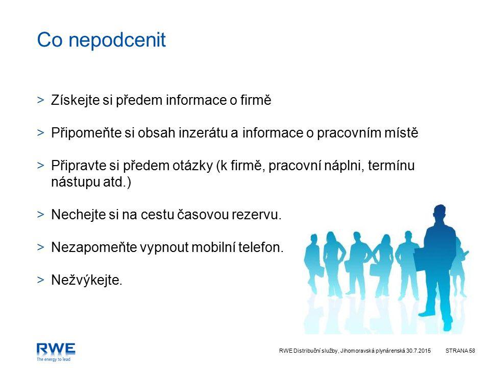 Co nepodcenit Získejte si předem informace o firmě