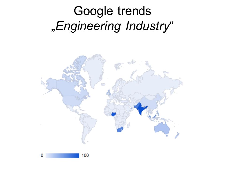 "Google trends ""Engineering Industry"