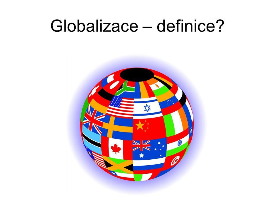 Globalizace – definice