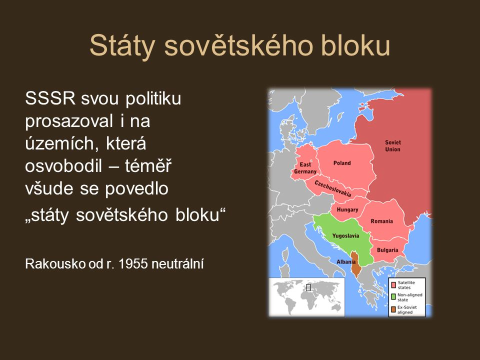 Státy sovětského bloku