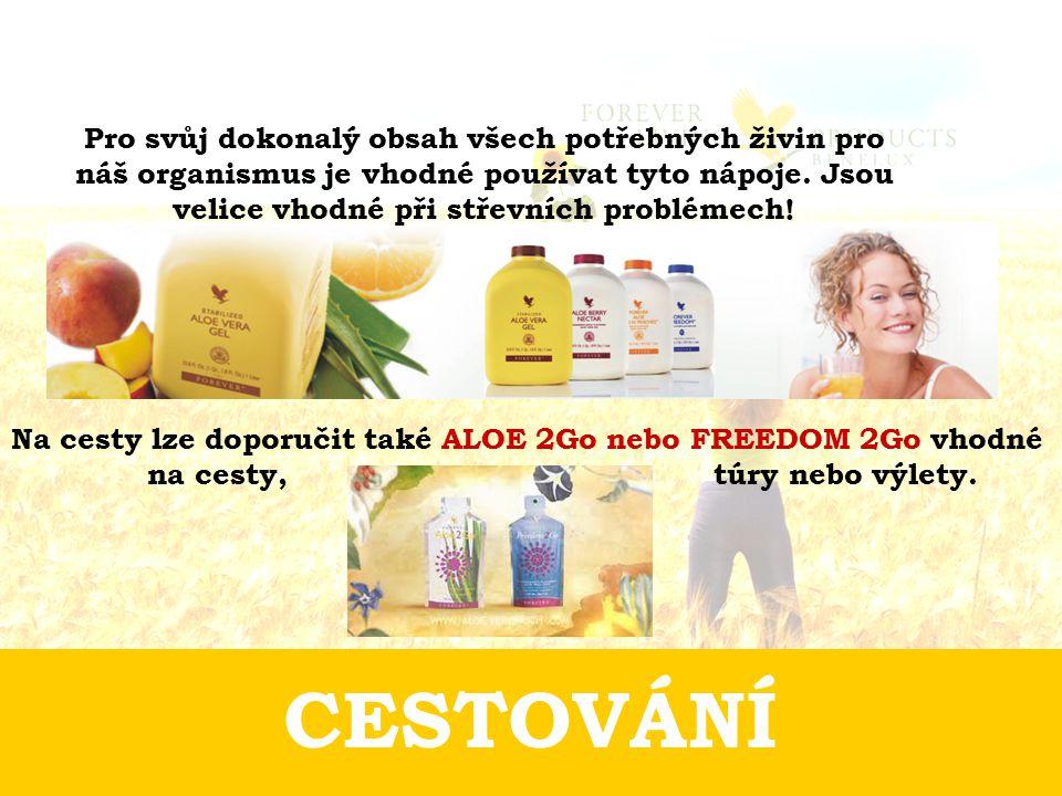 Pro svůj dokonalý obsah všech potřebných živin pro náš organismus je vhodné používat tyto nápoje. Jsou velice vhodné při střevních problémech!