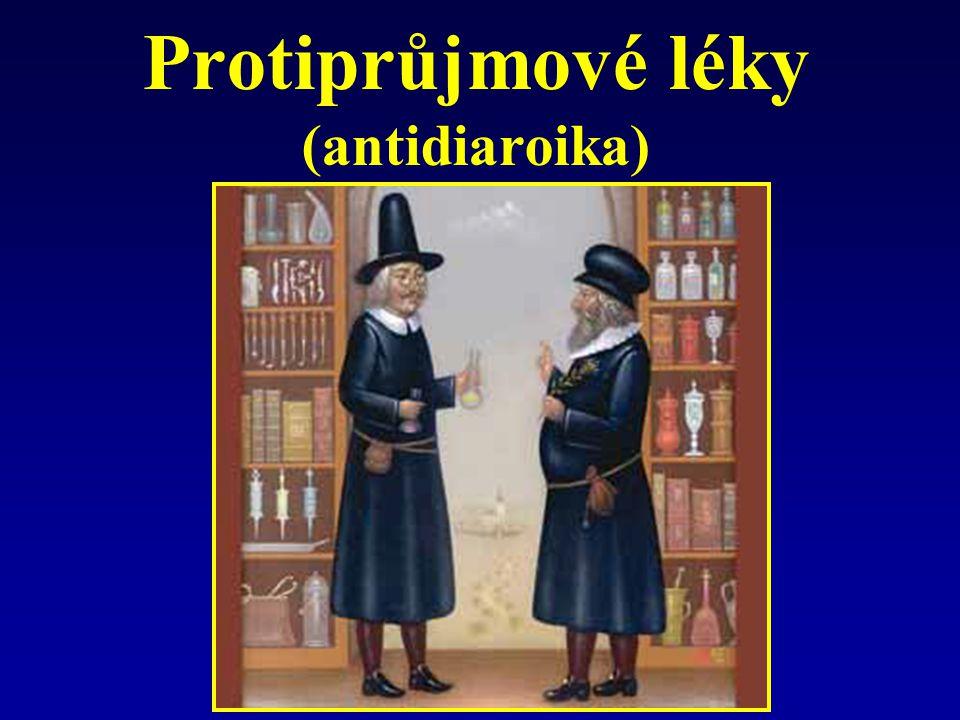 Protiprůjmové léky (antidiaroika)