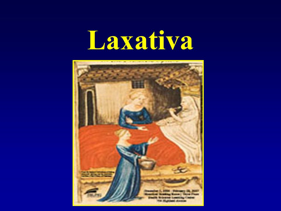 Laxativa