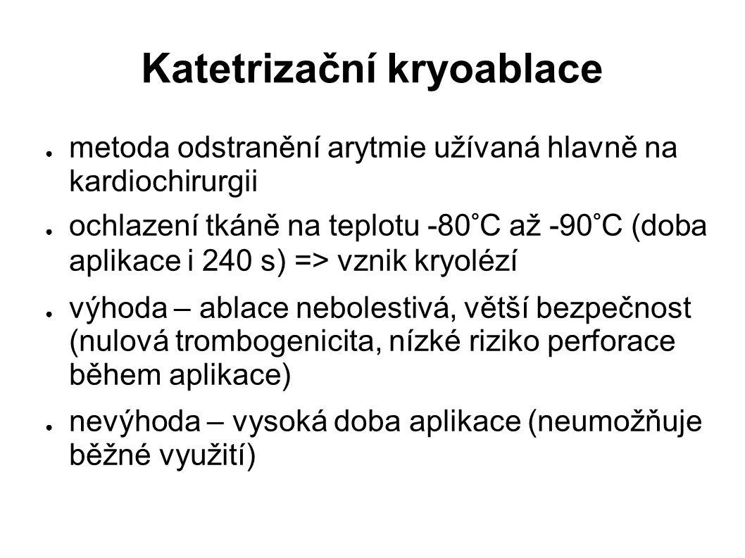 Katetrizační kryoablace