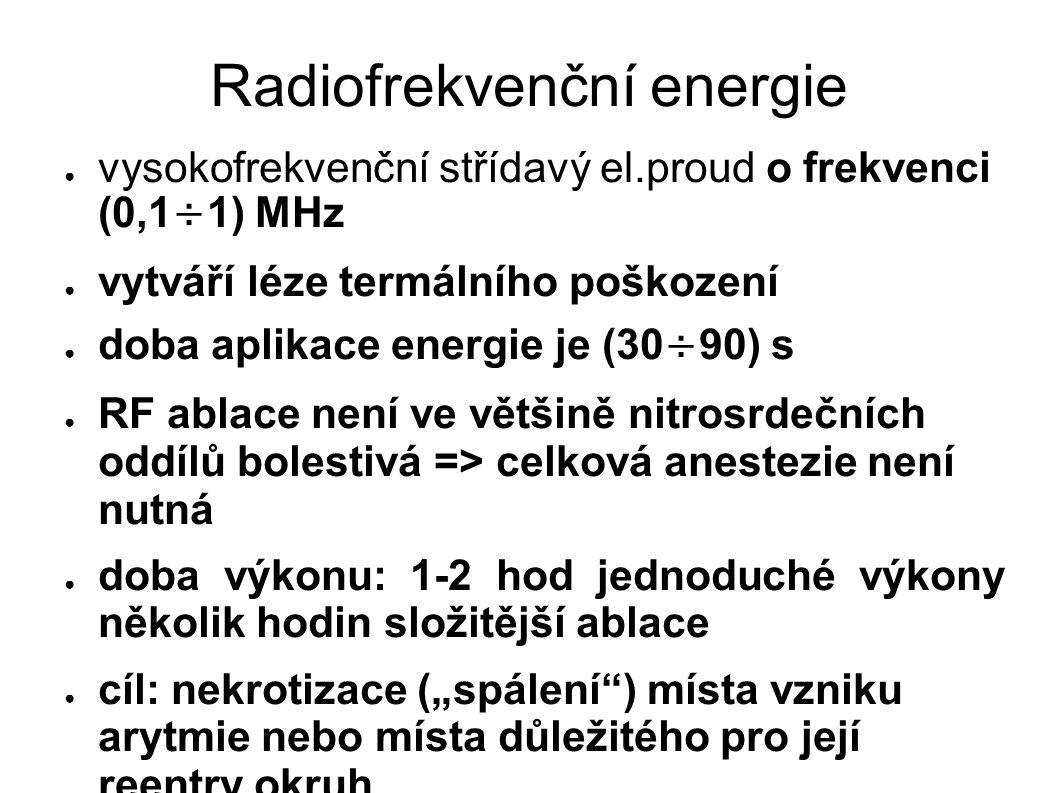 Radiofrekvenční energie